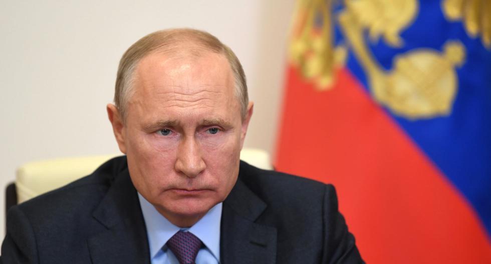 Una cabina desinfectante protegerá a Vladimir Putin del coronavirus. (Foto: Alexey NIKOLSKY / SPUTNIK / AFP).