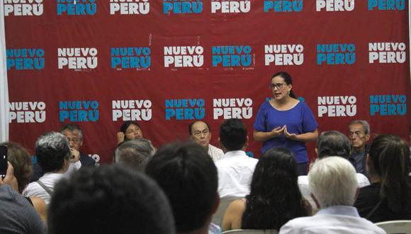 Agrupación de Verónika Mendoza buscará inscribir su propia agrupación (Foto: Nuevo Perú).