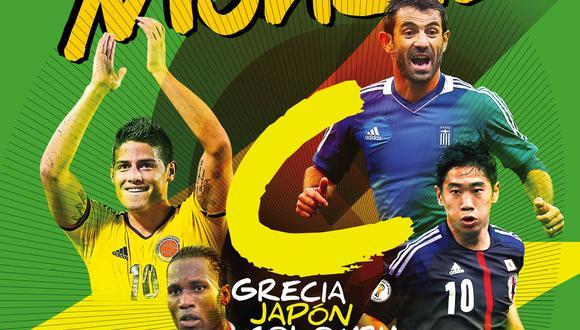 Revista DT Mundial: hoy en quioscos el Grupo C de Brasil 2014