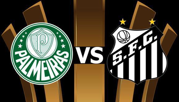 Palmeiras y Santos serán los grandes protagonistas de esta nueva final de la Copa Libertadores. (Conmebol)