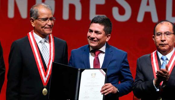 Previo a su militancia en APP, el parlamentario fue alcalde de Querocotillo para el período 2011-2014 por el Partido Aprista Peruano. (Foto: Andina)