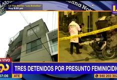 Investigan muerte de mujer que cayó de quinto piso de un edificio en Ate