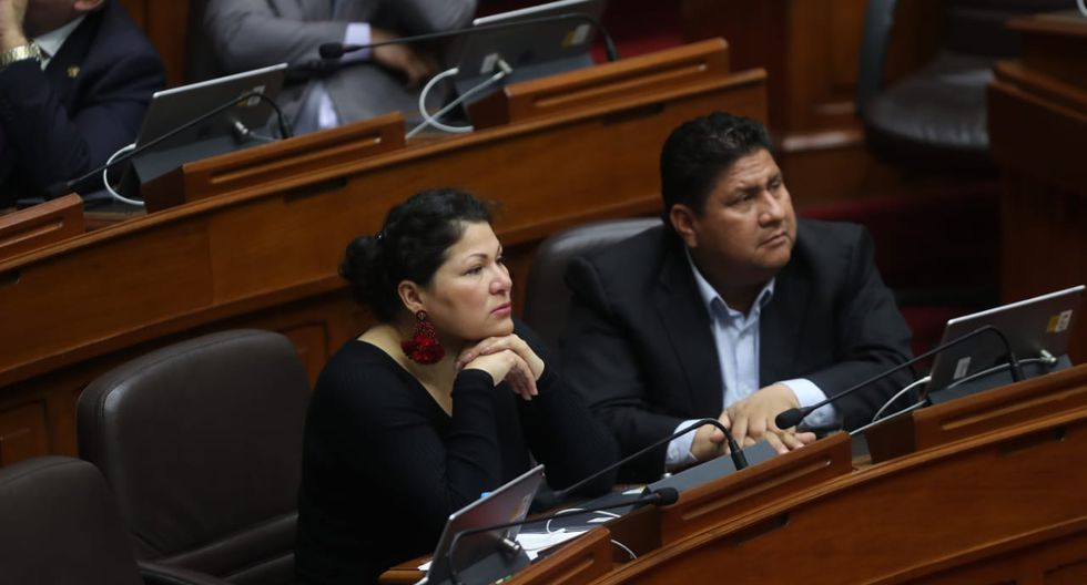 La congresista Yesenia Ponce pidió que el caso vuelva a la Comisión de Ética pero su planteamiento fue rechazado por mayoría. (Foto: Giancarlo Avila / GEC)