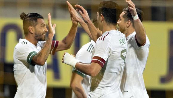 La selección de México rescató el empate 2-2 ante Argelia en un interesante partido de preparación jugado en el estadio Cars Jeans de La Haya, Holanda. (Foto: Agencias)