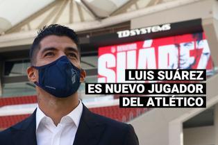Luis Suárez es el nuevo delantero del Atlético de Madrid por las próximas dos temporadas