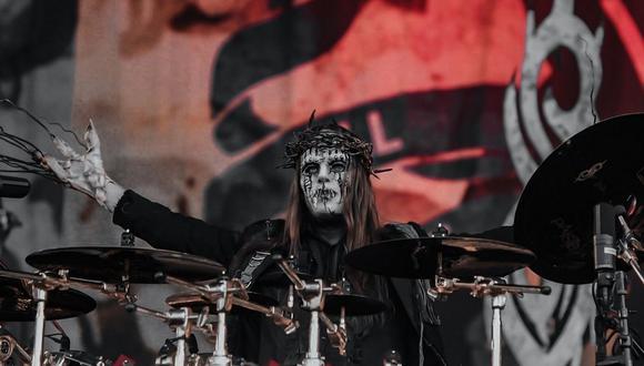 El baterista y fundador de la banda fue hallado sin vida el último lunes 26 de julio. (Foto: Slipknot)