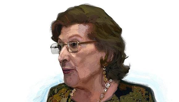 """""""María Luisa Rivara de Tuesta"""", por Francisco Miró Quesada C."""