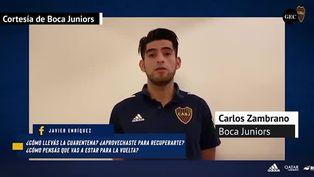 Carlos Zambrano cuenta como fue jugar con camiseta de Boca en La Bombonera