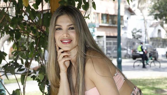La actriz y modelo Vanessa Jerí interpretó a Carola Olazo. (Foto: GEC)