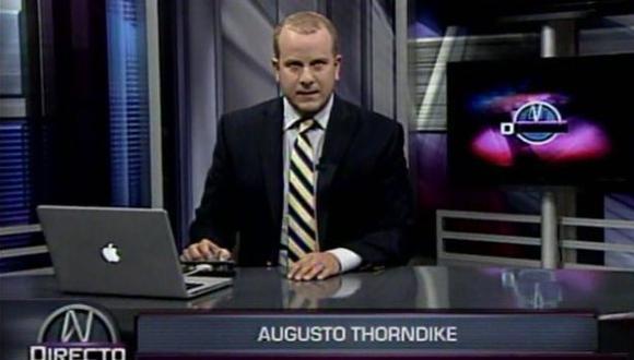 Augusto Thorndike: jueces rechazan declaraciones de periodista