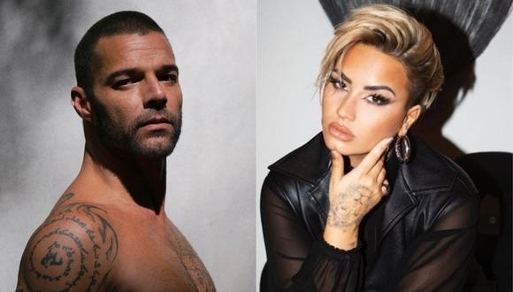 Ricky Martin y Demi Lovato piden que Trump salga ya de la Casa Blanca. (Foto: @rickymartin/@demilovato)