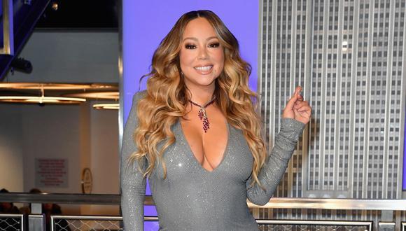 Mariah Carey se mantiene como la megadiva del pop a sus 50 años. (Foto: AFP)