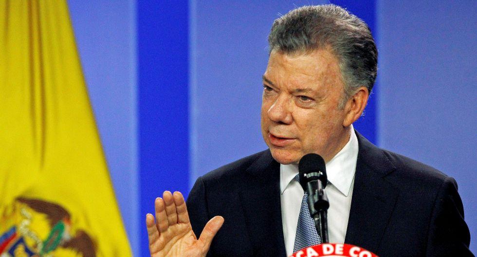 Juan Manuel Santos, presidente de Colombia. (Foto: Reuters/Jaime Saldarriaga)
