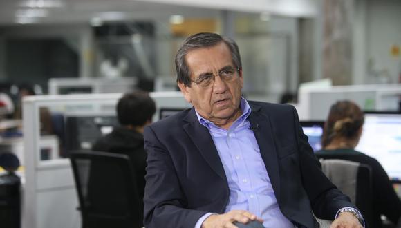 Jorge del Castillo refirió que el pedido de impedimento de salida contra Alan García viola el debido proceso. (Foto: USI)