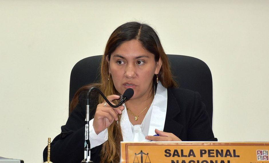 La jueza Elizabeth Arias fue elegida tras la recusación contra Richard Concepción Carhuancho. (Foto: Difusión)