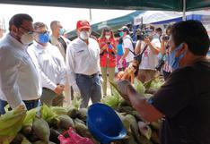 Huancavelica: agricultores abastecerán directamente a mercados limeños con toneladas de alimentos