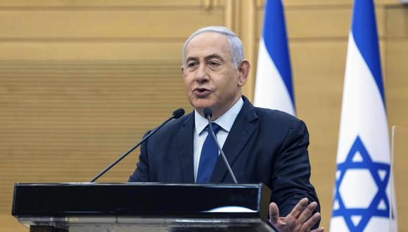 Benjamin Netanyahu, primer ministro de Israel. (AP).