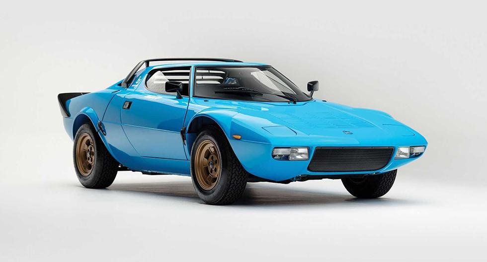 El Lancia Stratos es un deportivo italiano que en 1973 empezó su historia de éxito en las competencias de rally. (Fotos: RM Sothebys').