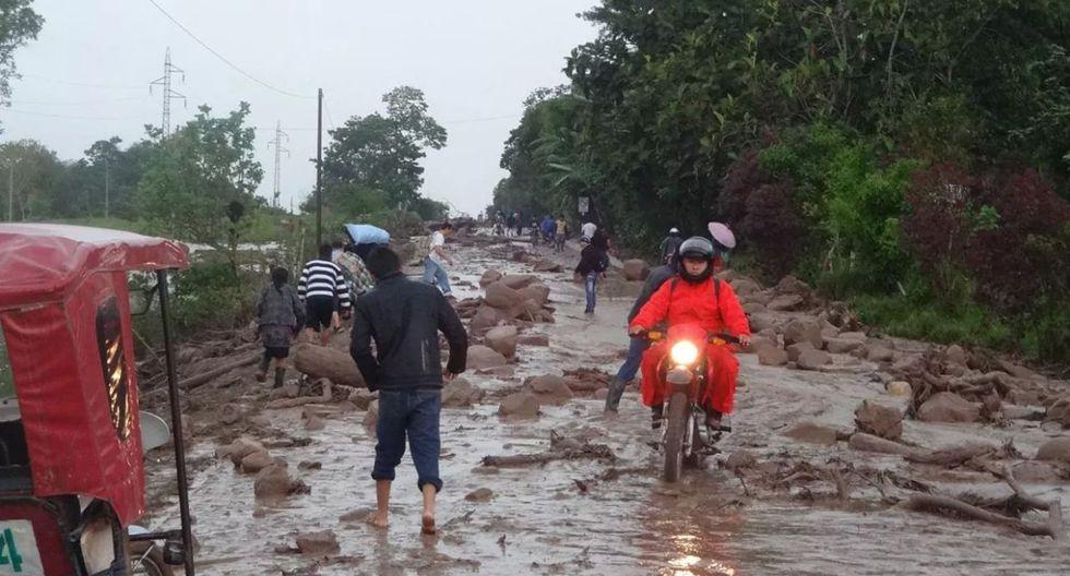 Fotos de los daños que dejó el huaico en Moyobamba - 3