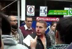 Metropolitano: pasajero fue agredido mientras formaba fila