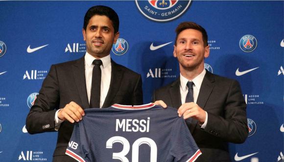 Lionel Messi firmó por el PSG por dos temporadas con opción de renovar una más. (Foto: Agencias)