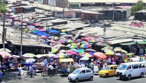 Existen 2.215 mercados en el Perú, según el Ministerio de la Producción.