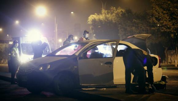 La Policía Nacional recogió huellas para poder identificar a los delincuentes. (Foto: César Grados)