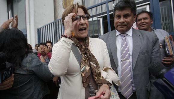 La ex alcaldesa Susana Villarán habría sido beneficiada con aportes de Odebrecht y OAS en la campaña del No. (USI)