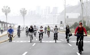 Costa Verde: peatones y ciclistas disfrutaron del circuito de playas