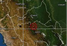 Junín: sismo de magnitud 4,0 se reportó en Chanchamayo, señala IGP
