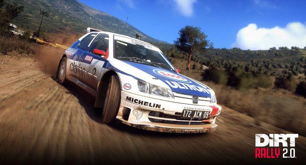 4. DiRT Rally 2.0. Disponible para PC (Windows), Xbox One y PS4.