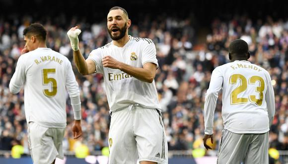 Real Madrid chocará con Osasuna por LaLiga Santander. Conoce los horarios y canales de todos los partidos de hoy, domingo 9 de febrero. (AFP)