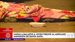 Santa Anita: joven comerciante es asesinado de un balazo