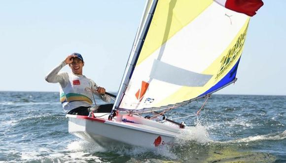 Renzo Sanguinetti ganó la medalla de bronce en vela. (Foto: Asociación Sunfish del Peru)