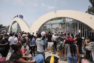 San Miguel: ciudadanos acudieron masivamente al Parque de las Leyendas