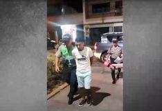 SMP: detienen a sujeto que intentó quemar a su expareja rociándole gasolina