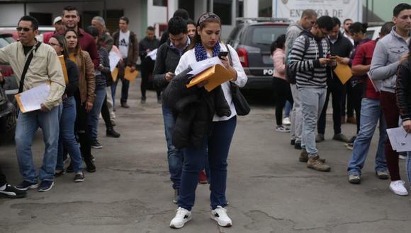 Según lo establecido en el Decreto Supremo N°007-2018-IN, pueden acogerse a este procedimiento los venezolanos que ingresen al país hasta el 31 de octubre. El plazo para las solicitudes vencerá el próximo 31 de diciembre (Foto: archivo)