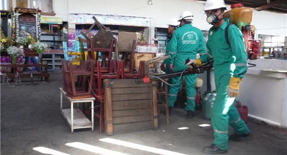 Arequipa: Mercados El Palomar y El Pesquero no atenderán el domingo por proceso de fumigación. (foto referencial)