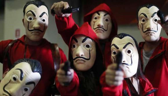 Se disfrazan como personajes de 'La casa de papel' y los vecinos llaman aterrados a la policía. (Foto: Netflix)