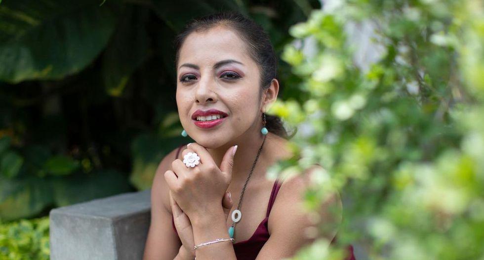 Luz Merly Santa Cruz representará al Perú en el Festival de Viña del Mar. (Foto César Campos / El Comercio)
