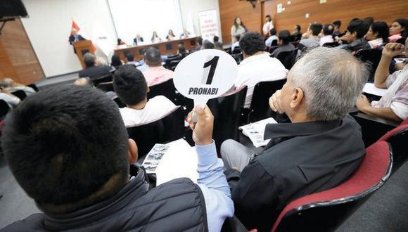 El remate público se realizará el próximo 23 y 24 de septiembre. (Foto: Ministerio de Justicia)