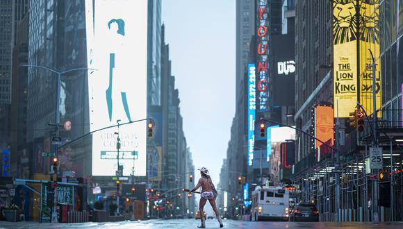 Coronavirus en New York | Ultimas noticias | Último minuto: reporte de infectados y muertos sábado 18 de abril del 2020 | Covid-19 | (Foto: Johannes EISELE / AFP)-