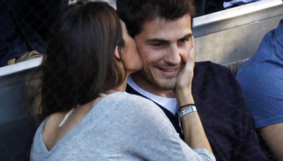 Casillas visitó a Carbonero y a su hijo en el hospital después de entrenar