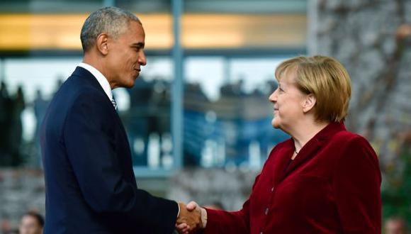 """Merkel sobre Obama: """"Despedirme de mi socio y amigo es difícil"""""""