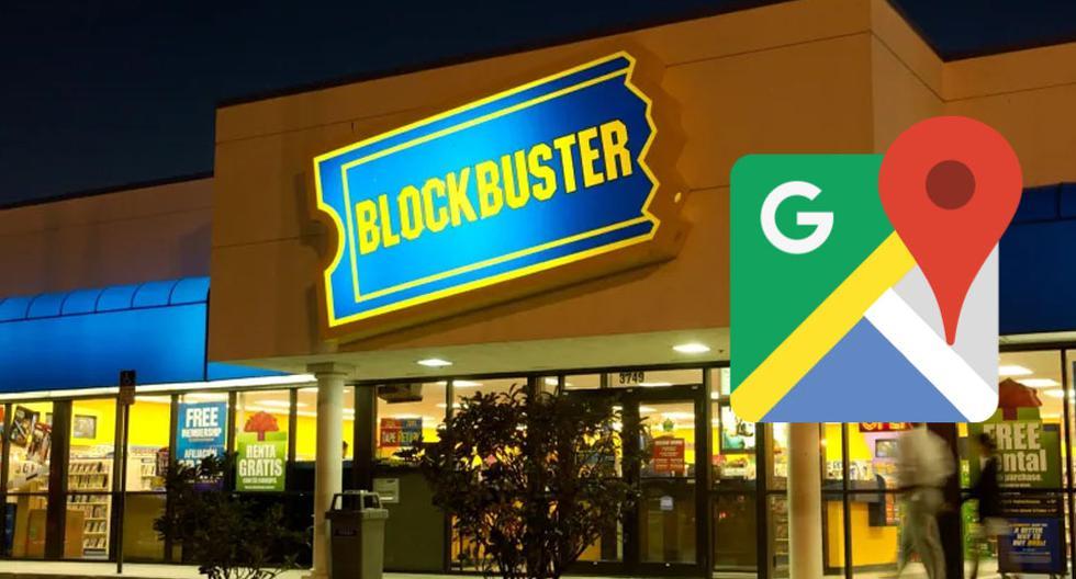 ¿Encuentran el último Blockbuster en Chile? Google Maps te muestra esta tienda de videos. (Foto: Google)