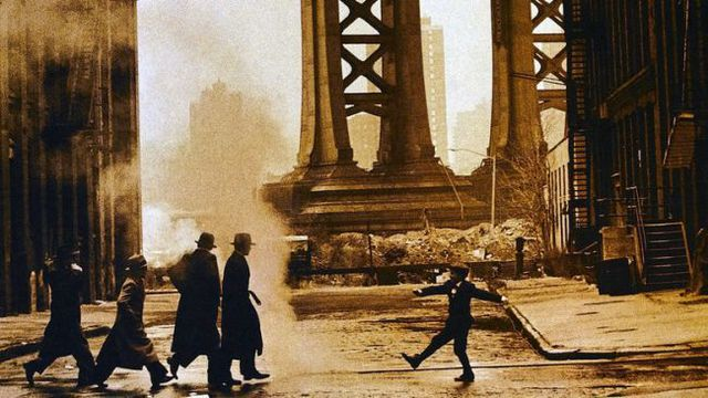Once Upon a Time in America (1984) by Sergio Leone.