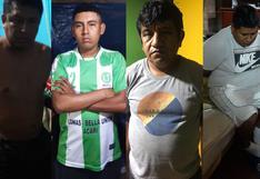 Ica: capturan a 11 presuntos integrantes de El Sindicato del Crimen de Nasca
