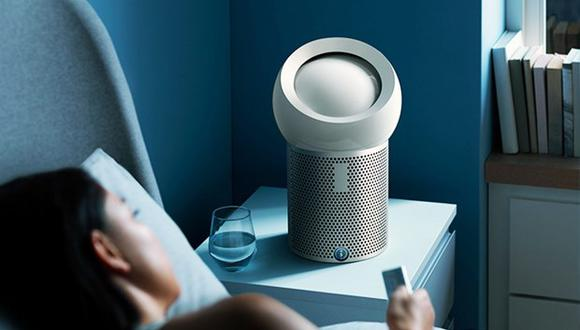 Este nuevo ventilador captura gases y el 99% de contaminantes que están presentes en el aire.
