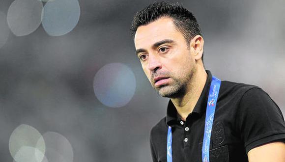 """Xavi Hernández justificó el """"no"""" a Barcelona, después de ofrecerle el cargo de entrenador del primer equipo. (Foto: AFP)"""
