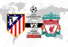 Atlético vs. Liverpool en vivo: ¿Qué canales TV de España transmiten el partido de Champions?